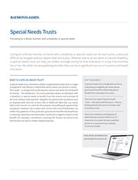 Read the full Special Needs Trusts information guide